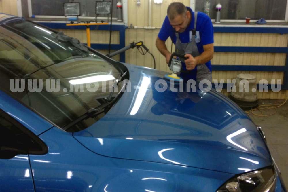 Полировка кузова автомобиля Ceramic Pro 1K-Nano